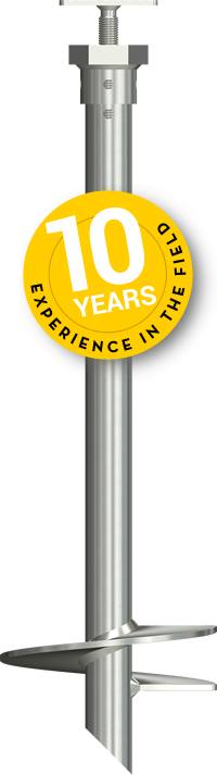 10 years experience in the field